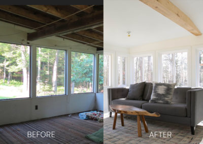 Before + After – Sun Room